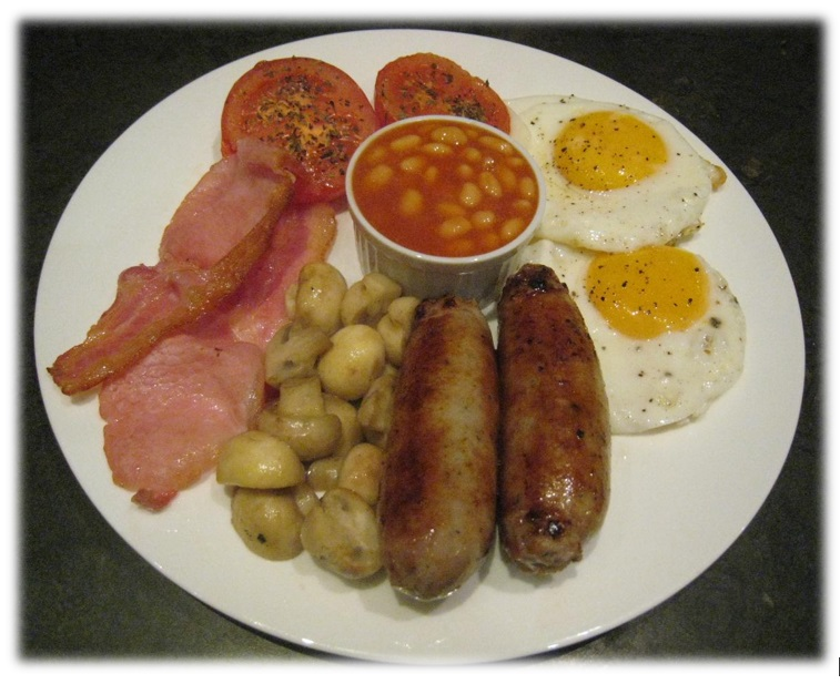 South Downs B&B Full English Breakfast